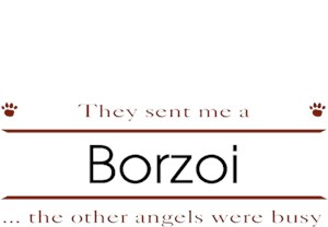 Borzoi T-Shirt - Other Angels