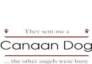 Canaan Dog T-Shirt - Other Angels