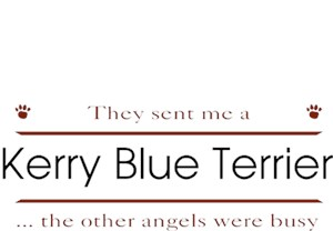 Kerry Blue Terrier T-Shirt - Other Angels