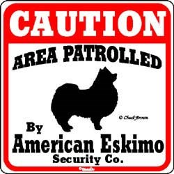 American Eskimo Dog Sign