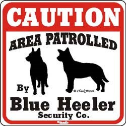 Blue Heeler Sign