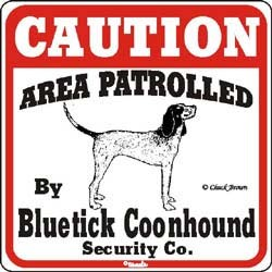 Coonhound Sign