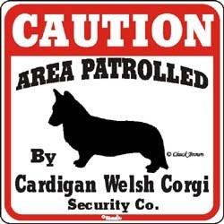 Corgi Sign