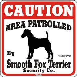 Smooth Fox Terrier Sign