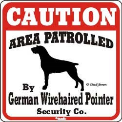 German Wirehaired Pointer Sign
