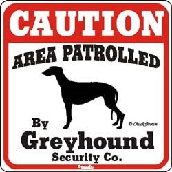 Greyhound Sign