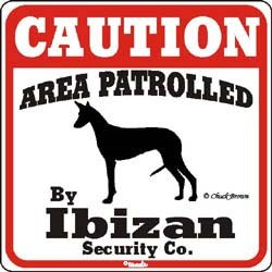 Ibizan Hound Sign