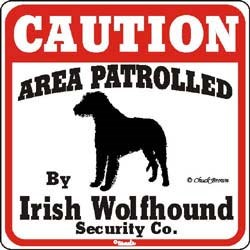 Irish Wolfhound Sign