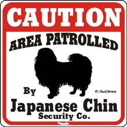 Japanese Chin Sign