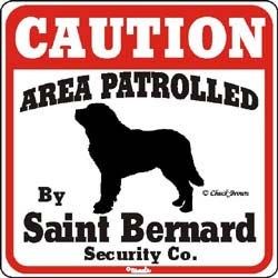 Saint Bernard Sign