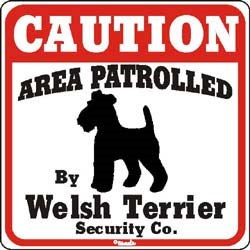 Welsh Terrier Sign
