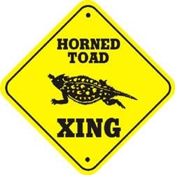 Horned Toad Sign