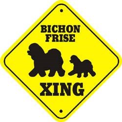 Bichon Frise Sign
