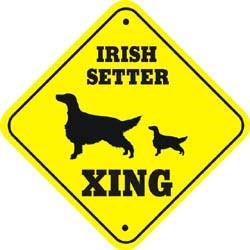 Irish Setter Sign