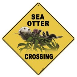 Sea Otter Sign