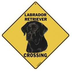 Black Lab Sign
