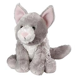 Gray Cat Plush