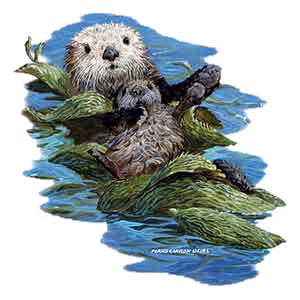 Sea Otter T-Shirt - Stylin With Paws