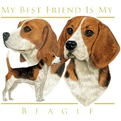 Beagle T-Shirt - My Best Friend Is