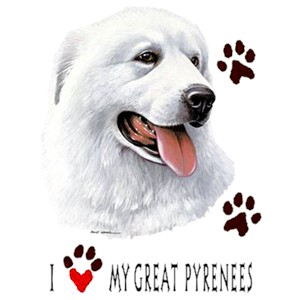 Great Pyrenees T-Shirt - My Best Friend Is