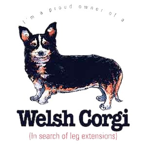 Corgi T-Shirt - Proud Owner