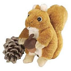 Red Squirrel Stuffed Animal