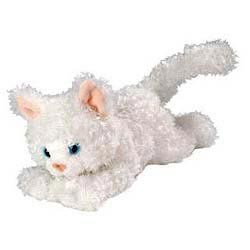 White Cat Plush