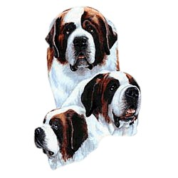 Saint Bernard T-Shirt - Best Friends