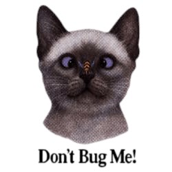 Cat T-Shirt - Dont Bug Me