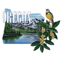 Meadowlark T-Shirt - Oregon State Bird