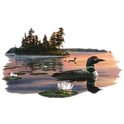 Loon T-Shirt - In Natural Setting