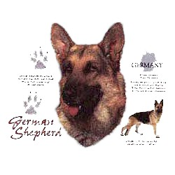 German Shepherd T-Shirt - History Collection