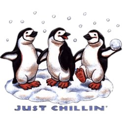 Penguin T-Shirt - Just Chillin