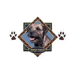 Border Terrier T-Shirt - Diamond Collection