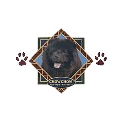 Black Chow Chow T-Shirt - Diamond Collection