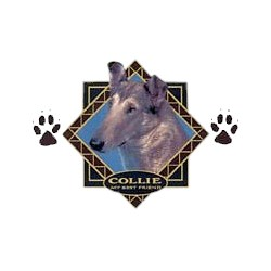 Smooth Hair Collie T-Shirt - Diamond Collection