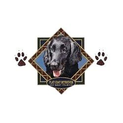 Flat-Coated Retriever T-Shirt - Diamond Collection