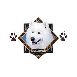 Samoyed T-Shirt - Diamond Collection