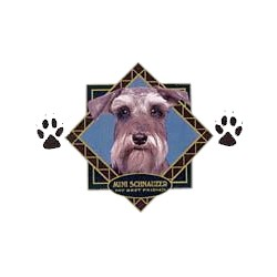 Schnauzer T-Shirt - Diamond Collection