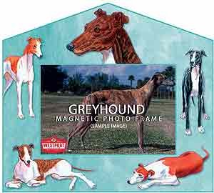 Greyhound Picture Frame