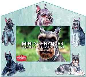 Schnauzer Picture Frame