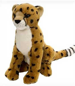 Cheetah Plush Animal