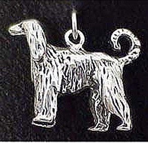 Afghan Hound Charm