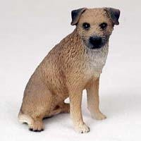 Border Terrier Figurine