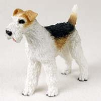 Wire Fox Terrier Figurine