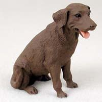 Chocolate Lab Figurine