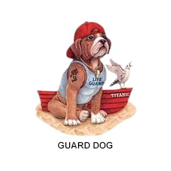 Boxer T-Shirt - Guard Dog