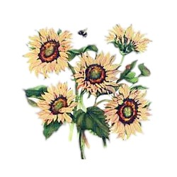 Bee T-Shirt - Floral Design