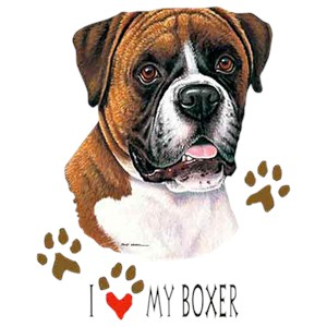 Boxer T-Shirt - I Love My