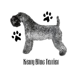Kerry Blue Terrier T-Shirt - Profiles